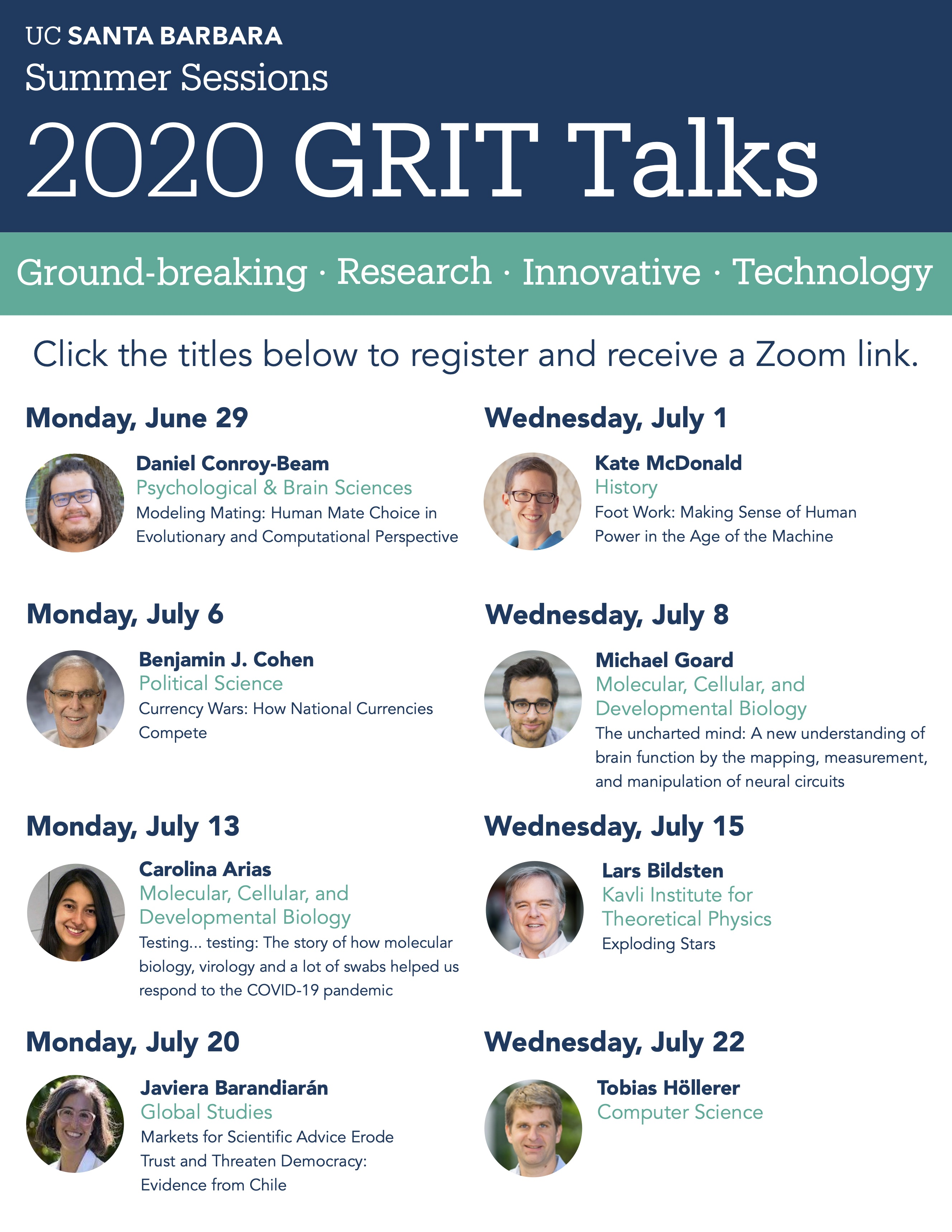 GRIT Talks 2020