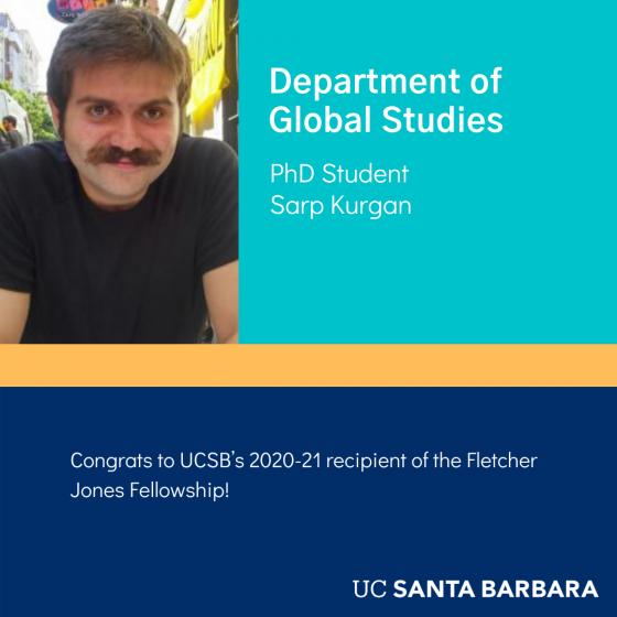 Sarp Krugan Global Studies PhD